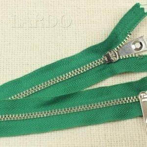 Молния ZIP разъёмная, однозамковая, 31 см, №4, зелёная
