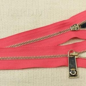 Молния PINKO неразъёмная, однозамковая, 25 см, №4, розовая