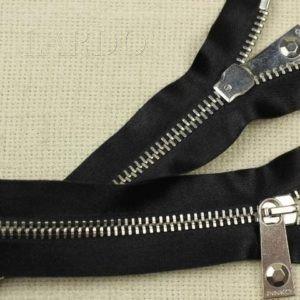 Молния PINKO неразъёмная, однозамковая, 50 см, №5, чёрная
