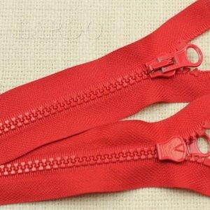 Молния ТРАКТОР, разъёмная, однозамковая, 45 см, №5, красная