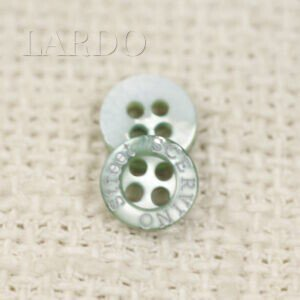 Пуговица перламутр оливковый ∅ 0,9 см