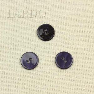 Пуговица перламутр тёмно-синий ∅ 2 см
