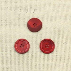 Пуговица перламутр чёрный матовый ∅ 1,5 см