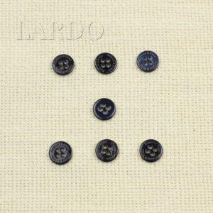 Пуговица перламутр тёмно-синий ∅ 1,1 см