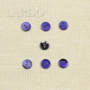 Пуговица перламутр ∅ 1,1 см фиолетового цвета