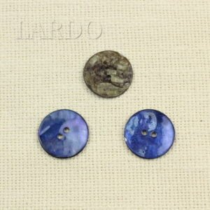 Пуговица перламутр малиновый ∅ 2,1 см