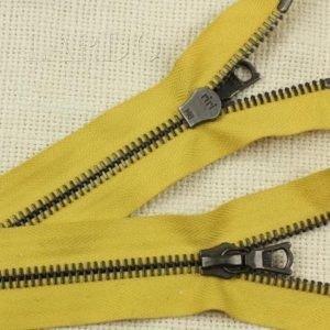 Молния Ri-Ri, разъёмная, однозамковая, 85 см, №6, жёлтая