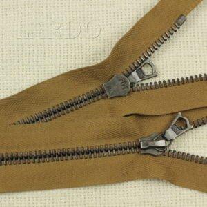 Молния Ri-Ri, разъёмная, однозамковая, 80 см, №6, коричневая