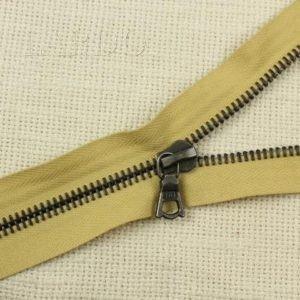 Молния Ri-Ri, разъёмная, однозамковая, 85 см, №6, песочная