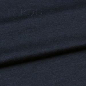 Трикотаж шёлк с вискозой тёмно-синий