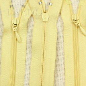 Молния UNIZIP разъёмная, двухзамковая, 100 см, №4, светло-жёлтая