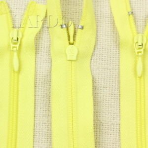 Молния UNIZIP разъёмная, двухзамковая, 100 см, №4, жёлтая