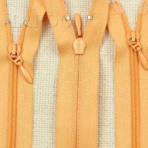 Молния UNIZIP разъёмная, двухзамковая, 100 см, №4, оранжевая