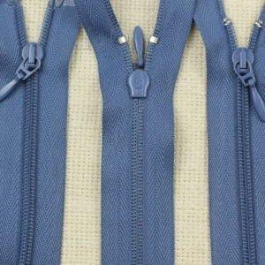 Молния UNIZIP разъёмная, двухзамковая, 100 см, №4, синяя