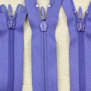 Молния UNIZIP разъёмная, двухзамковая, 100 см, №4, фиолетовая
