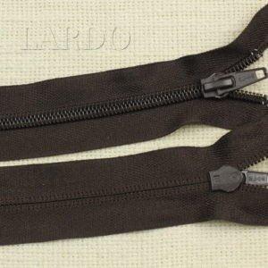 Молния LAMPO разъёмная, однозамковая, 62 см, №5, тёмно-коричневая