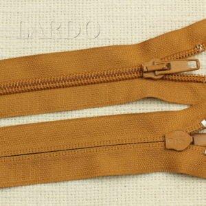 Молния UNIZIP разъёмная, однозамковая, 65 см, №5, светло-коричневая