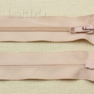 Молния UNIZIP разъёмная, двухзамковая, 55 см, №4, светло-розовая