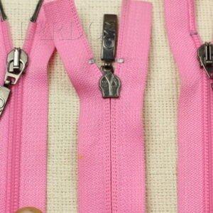 Молния разъёмная, двухзамковая, 67 см, №5, светло-розовая