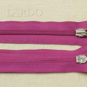 Молния UNIZIP разъёмная, однозамковая, 65 см, №5, тёмно-розовая
