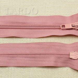 Молния разъёмная, однозамковая, 57 см, №5, тёмно-розовая