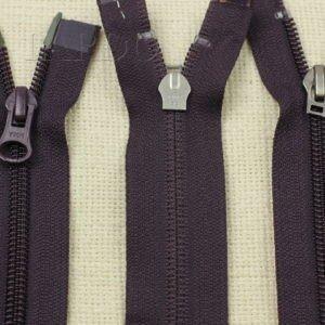Молния YKK разъёмная, двухзамковая, 70 см, №5, тёмно-фиолетовая