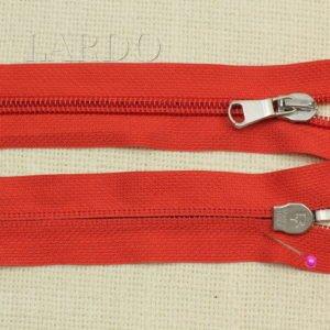 Молния PINCO PALLINO разъёмная, однозамковая, 57 см, №5, красная