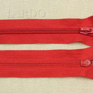 Молния разъёмная, однозамковая, 65 см, №5, красная