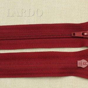 Молния YKK разъёмная, однозамковая, 70 см, №5, бордовая