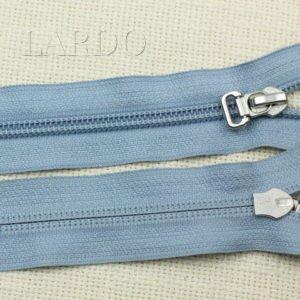 Молния YKK разъёмная, однозамковая, 46 см, №5, голубая