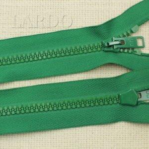 Молния Ri-Ri ТРАКТОР, разъёмная, однозамковая, 30 см, №5, зелёная