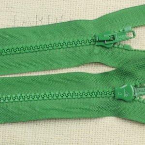 Молния LAMPO ТРАКТОР, разъёмная, однозамковая, 48 см, №5, зелёная