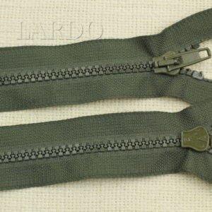 Молния ТРАКТОР, разъёмная, однозамковая, 50 см, №5, зелёная