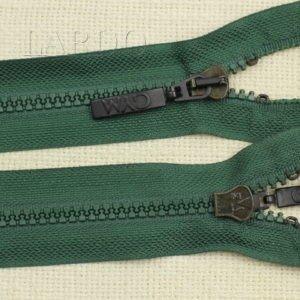 Молния ТРАКТОР, разъёмная, однозамковая, 51 см, №5, зелёная
