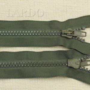 Молния ТРАКТОР, разъёмная, однозамковая, 57 см, №5, зелёная