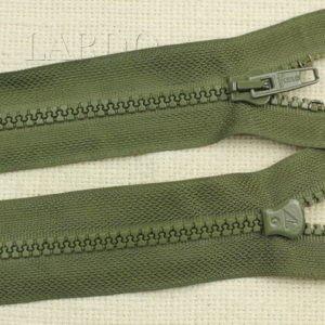 Молния LAMPO ТРАКТОР, разъёмная, однозамковая, 60 см, №5, зелёная