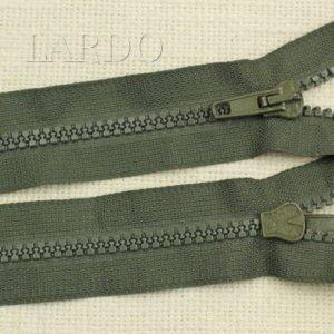 Молния ТРАКТОР, разъёмная, однозамковая, 60 см, №5, зелёная