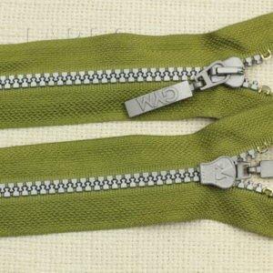 Молния ТРАКТОР, разъёмная, однозамковая, 65 см, №5, зелёная