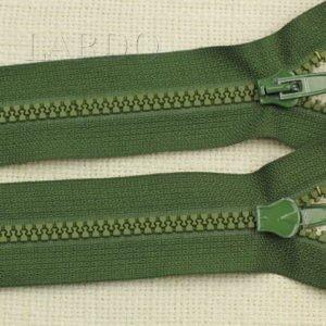 Молния ТРАКТОР, разъёмная, однозамковая, 67 см, №5, зелёная