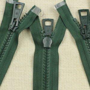 Молния ТРАКТОР, разъёмная, двухзамковая, 68 см, №5, зелёная