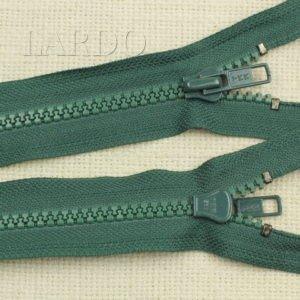 Молния YKK ТРАКТОР, разъёмная, однозамковая, 68 см, №5, зелёная