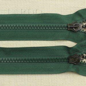 Молния ТРАКТОР, разъёмная, однозамковая, 70 см, №5, зелёная