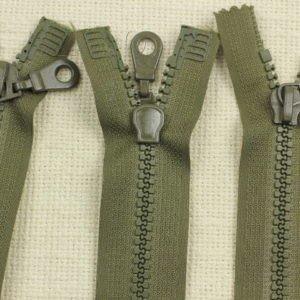 Молния ТРАКТОР, разъёмная, двухзамковая, 75 см, №5, зелёная