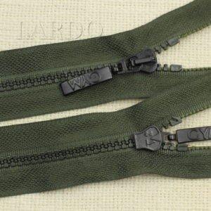 Молния ТРАКТОР, разъёмная, однозамковая, 72 см, №5, зелёная