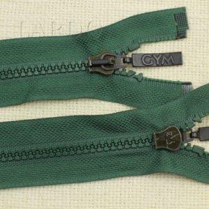 Молния ТРАКТОР, разъёмная, однозамковая, 75 см, №5, зелёная