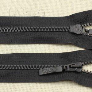 Молния CZ ТРАКТОР, разъёмная, двухзамковая, 50 см, №5, чёрная