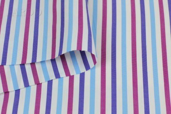 Рубашечная ткань хлопок в продольную полоску