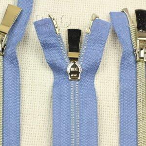 Молния UNIZIP разъёмная, металлизированная, двухзамковая, 48 см, №5, синяя