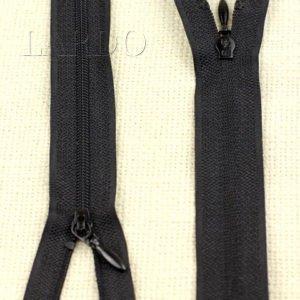Молния UNIZIP разъёмная, однозамковая, 27 см, №4, чёрная