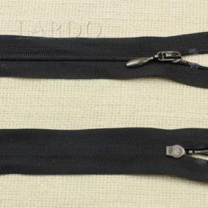 Молния разъёмная, однозамковая, 40 см, №3, чёрная